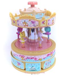 This precious vintage Moose Mountain Toymakers carousel is now on sale on my Etsy Store here.  ✰Shipping: Worldwide!✰ ❤Cute Vintage Toy Shop❤