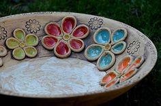 17 Best ideas about Pottery Designs Hand Built Pottery, Slab Pottery, Pottery Bowls, Ceramic Pottery, Ceramic Clay, Ceramic Plates, Ceramic Poppies, Cerámica Ideas, Pottery Handbuilding