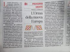 """29 Settembre 2012: L'orma su «Tuttolibri», nella rubrica """"Prossimamente"""" di Mirella Appiotti."""