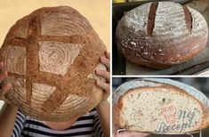 Kváskový špaldový chléb | NejRecept.cz Bakery, Bakery Business, Bakeries