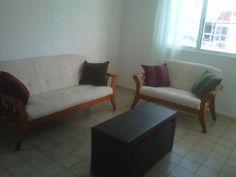 En renta departamento amueblado en el centro de 3 recamamaras $ 6,500 Olivia Quijano +52 (998)1338223 y Maria Teresa Melo +52 (998) 937 32 39