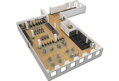 Commercial Fitness Facility Design   Installation Showcase   professional design   Cybex