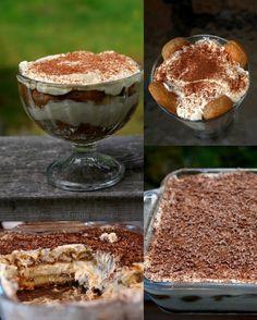 Homemade tiramisu recipe - With step by step photos - Laylita's Recipes Dessert Bars, Dessert Cake Recipes, No Bake Desserts, Easy Desserts, Delicious Desserts, Yummy Food, Homemade Tiramisu, Easy Tiramisu Recipe, Small Desserts