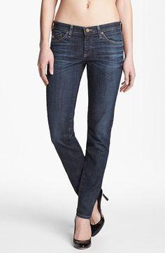 AG Jeans 'The Stilt' Cigarette Leg Stretch Jeans (4 Year Coastline) available at #Nordstrom