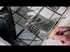 ▶ Watercolor painting by Erik Lundgren - YouTube