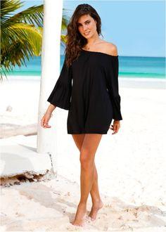 Vestido ombro a ombro. Monica · Outfits 7ca29af7ebef