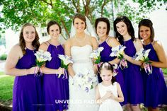 Louisiana Pineville Wedding Purple Southern Wedding