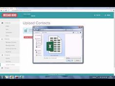 Message Hero: How to upload your contacts from a file - YouTube