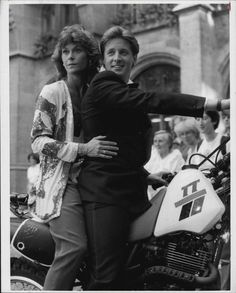 Kate Jackson And Bruce Boxleitner  Scarecrow And Mrs. King  Press Photo