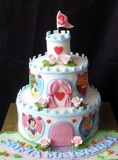 I love this princess cake! different from the normal disney princess cakes. Love it!