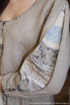 Ideas for sewing clothes patterns thoughts - Upcycle clothes - Kurti Sleeves Design, Sleeves Designs For Dresses, Sleeve Designs For Kurtis, Abaya Mode, Sewing Sleeves, Vestidos Vintage, Mode Inspiration, Sewing Clothes, Fashion Details