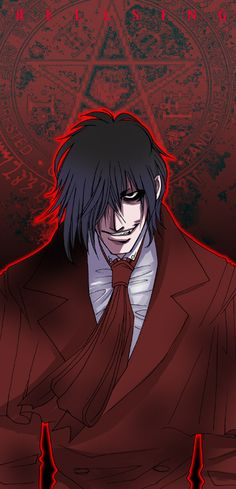 Alucard- Helsing: what happens when you start a war between Catholics, England, and Nazis; then throw in vampires? This show answers that question. Comic Manga, Chica Anime Manga, Anime Comics, Anime Art, Hellsing Alucard, Best Vampire Anime, Anime Love, Anime Guys, Otaku
