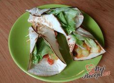 Vegetariánské tortilly
