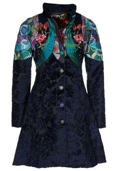 Farb-und Stilberatung mit www.farben-reich.com - Desigual ABRIG LA SOLISTA - Winter Coat - blue