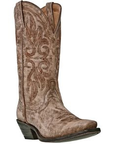 Laredo Women's Maricopa Cowgirl Boot - Tan Crackle  http://www.countryoutfitter.com/products/31387-womens-maricopa-boot-tan-crackle #cowgirlboots