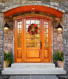 Looking for new doors for a residential or commercial project? Upstate Door offers interior and exterior door designs to meet any need. Arched Front Door, Front Door Entrance, Entry Doors, Front Porch, Custom Screen Doors, Custom Exterior Doors, Door Design, Exterior Design, Interior And Exterior