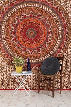 Kerala Tapestry//////////can also be a comforter////////its really trippy so there.