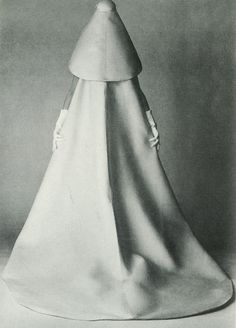 Balenciaga's Bride's Dress, photographed by David Bailey for Vogue, July 1967