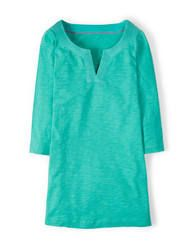 Stitch Detail Top in Grasshopper - Boden Summer Tops, Get Dressed, Preppy, Tunic Tops, Mens Tops, T Shirt, Stitch, Detail, Clothes