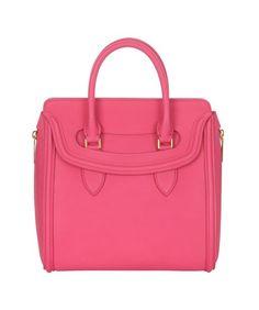 Alexander McQueen Pop-Pink Medium Heroine