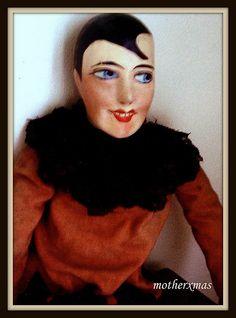 German Halloween Pierrot Boudoir Doll | Flickr - Photo Sharing!