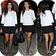 #kourtneykardashian #polkadots #heels #hair #bangs #style #fashion #baby #pretty #beautiful #wow #rihanna #instafashion #beautiful #ootd #hot #kendalljenner #kyliejenner #kimkardashian #beyonce #fashionicon  #styleicon #perfection #celebrity #justinbieber #selenagomez #taylorswift #classy #love #weheartit... - Celebrity Fashion