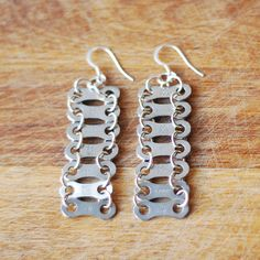 Glam Bike Chain Earrings - Keen Cyclists - Personality - Christmas Gift Guide - The Lost Lanes