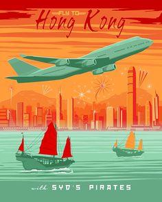 travel poster vintage manila - Google Search
