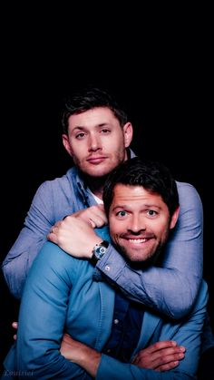 Misha and Jensen — cockles shipp <3