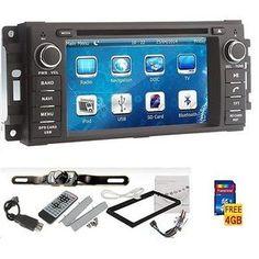 "6.2"" Car GPS DVD Player Navigation HOT Jeep Wrangler Unlimited 2007-2010+Camera in eBay Motors, Parts & Accessories, Car & Truck Parts | eBay"