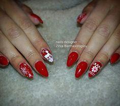 Christmas nails 2015 Nails 2015, Nail Artist, Christmas Nails, Christmas Manicure, Xmas Nails