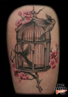 I've been toying with the idea of a whimsical bird cage...I like this