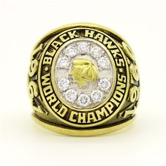 Custom 1961 Chicago Blackhawks Stanley Cup Championship Ring