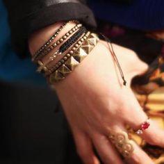 Set of 5: Layered Metal Bracelet from #YesStyle <3 kitsch island YesStyle.co.uk