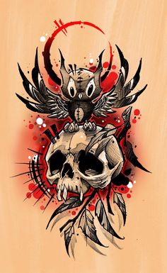 (Notitle) – tattoo templates – Graffiti World Skull Tattoo Design, Skull Tattoos, Body Art Tattoos, Sleeve Tattoos, Cool Tattoos, Tattoo Designs, Graffiti Tattoo, Tattoo Sketches, Tattoo Drawings