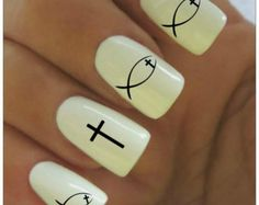 christian easter nail art - Google Search