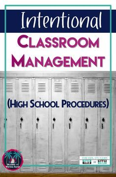 Read about 5 common classroom management issues in high school and practical solutions for handling them. high school 5 Common Classroom Management Issues in High School High School Reading, Middle School Classroom, Science Classroom, English Classroom, Highschool Classroom Rules, Math School, History Classroom, Future Classroom, Classroom Management Strategies