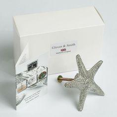 starfish handle drawer pull UK made