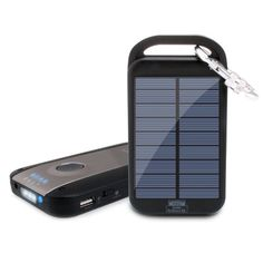 ReVIVE Solar ReStore XL 4000mAh Solar Charger Power Bank & USB Rechargeable Backup Battery Pack w/ Universal USB Charging Port &...
