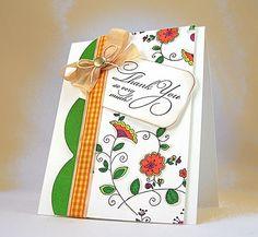 PITT Artist Pen card by Jill Foster.