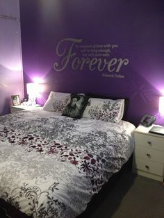 Twilight bedroom, this is so cool!!!!