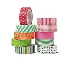Resultado La imagen de la cinta adhesiva decorada