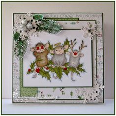 House-Mouse & Friends Monday Challenge: HMFMC183 Midway Reminder 'Add a Little Sparkle' Challenge