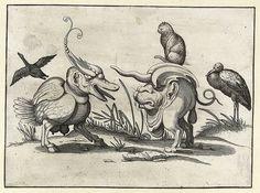 007- Dibujos grotescos - Arent van Bolten- Rijksmuseum - Cesar Ojeda