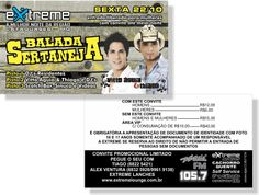Balada Sertaneja 2 - Extreme (Convite)