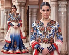 Excellent Salwar Kameez Bridal Anarkali Suits 2014|Designs, have much criticalness in configuration industry. Anarkali dresse take after our customary custom.