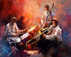 Jazzband by William Haenreats