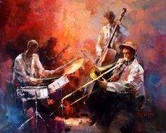 Jazzband by William Haenreats