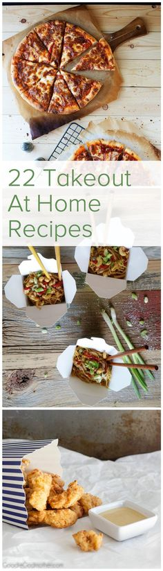 22 Takeout at Home Recipes - Hill Reeves  Save money and cut calories by making your favorite takeout meals at home. From pizza to kung pao chicken these are the essential recipes to do the job! Feed your family a healthy dinner that still hits the spot.