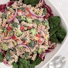 Broccoli, Ham & Pasta Salad - EatingWell.com